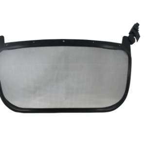 Visor de malla 8 x 16 adosable al casco